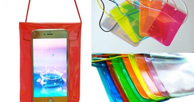 ซองโทรศัพท์แบบกันน้ำ